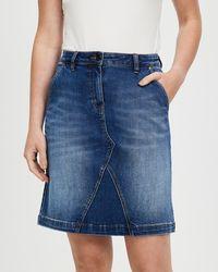 Marcs Belrose Denim Mini Skirt - Blue