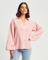 The Fated Evie Soft Shirt - Pink