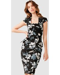SACHA DRAKE City Hall Dress - Black