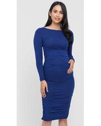 Bamboo Body Selena Dress - Blue