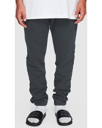Billabong Overdye Fleece Trousers - Black