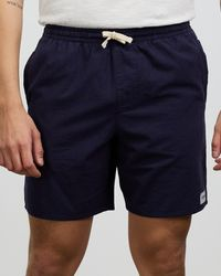 Rhythm The Iconic 10th Birthday Exclusive Essential Linen Jam Shorts - Blue