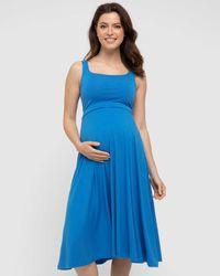 Bamboo Body Melanie Dress - Blue