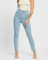 Lee Jeans Hi Rider Curve Skinny Jeans - Blue
