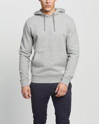 Staple Superior Staple Organic Fleece Hoodie - Grey