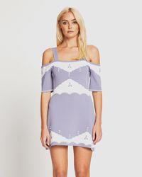 Alice McCALL Come Over Mini Dress - Purple