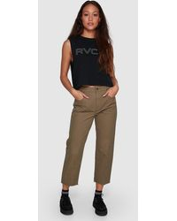 RVCA Out Going Trousers - Green