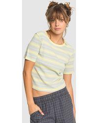 Quiksilver Originals Rib T Shirt - Multicolour