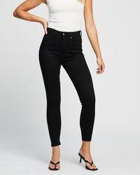 Lee Jeans Hi Rider Curve Skinny Jeans - Black