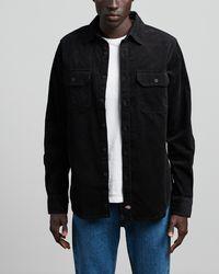 Dickies Sonora Cord Shirt - Black