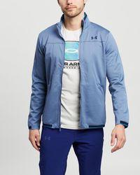 Under Armour Ua Recovertm Knit Track Jacket - Blue