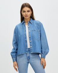 Nobody Denim Shine Shirt - Blue