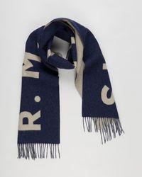 R.M.Williams Logo Scarf - Blue