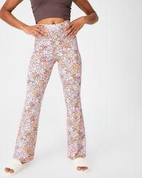 Cotton On Body Jersey Bed Trousers - Multicolour