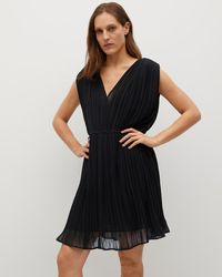 Mng Mina Dress - Black