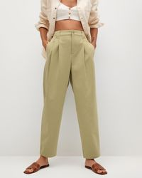 Mng Mint Trousers - Brown