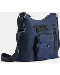 Naturalizer Safari Crossbody Bag - Blue