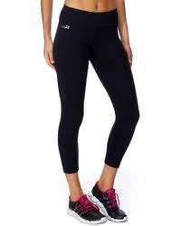 Brasilfit Supplex Mid Calf legging - Black