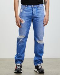 Tommy Hilfiger Ethan Relaxed Straight Jeans - Blue