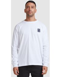 RVCA Noodles Ls Tee - White