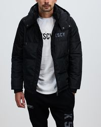 Kiss Chacey Loyalty Puffer Jacket - Black