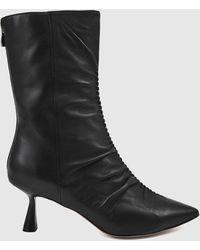 Nakedvice The Dahlia Boots - Black
