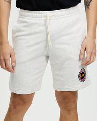 New Balance Nb Essentials Athletic Club Fleece Shorts - Multicolour