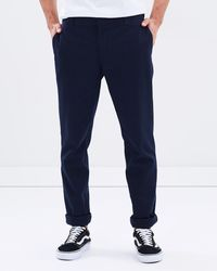 Dickies 872 Slim Straight Tapered Fit Pant - Blue
