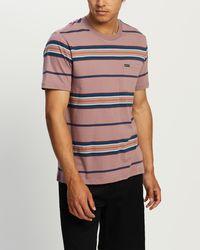 Brixton Hilt Ss Pocket Knit Tee - Multicolour