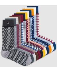Sockdaily Dreams 12 Pack Crew Socks - Multicolour