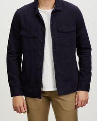 Neuw Kalte Overshirt - Blue