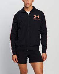 Under Armour Woven Training Track Jacket - Black