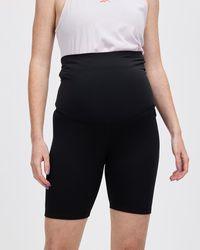 Reebok Performance Maternity Bike Shorts - Black
