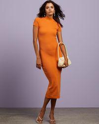 Dazie New Horizons Knit Dress - Orange