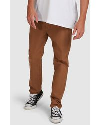 Billabong 73 Chino Trousers - Brown