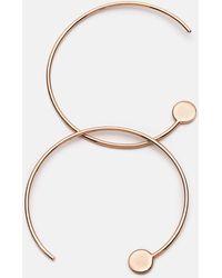 Pastiche Not Yet Light Earrings - Metallic