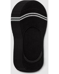 Sockdaily Pure Invis Bamboo No Show Socks 9 Pack - Black
