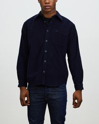 Deus Ex Machina Allan Cord Shirt - Blue