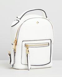 Peta and Jain Zoe Mini Backpack - White