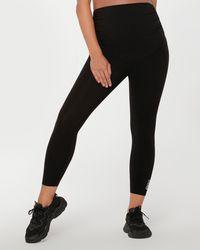 Lorna Jane Full Coverage Maternity Phone Pocket Ankle Biter leggings - Black