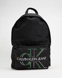 Calvin Klein Campus Backpack 43 Glow - Black