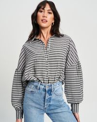 The Fated Val Oversize Shirt - Multicolour