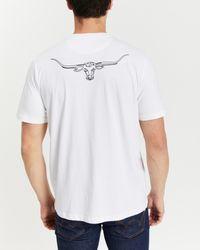 R.M.Williams Byron T Shirt - White