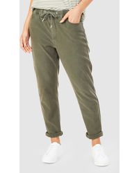 French Connection Relaxed Denim joggers - Green