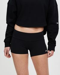 Reebok Performance United By Fitness Chase Booty Shorts - Black