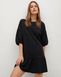 Mng Dailin Dress - Black