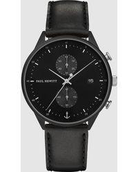 PAUL HEWITT Chrono Watch - Black