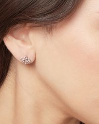 Pastiche Posy Earrings - Metallic