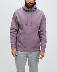 Bonds Fleece Pullover Hoodie - Purple