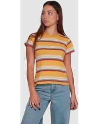 RVCA Ventura Short Sleeve Tee - Multicolour